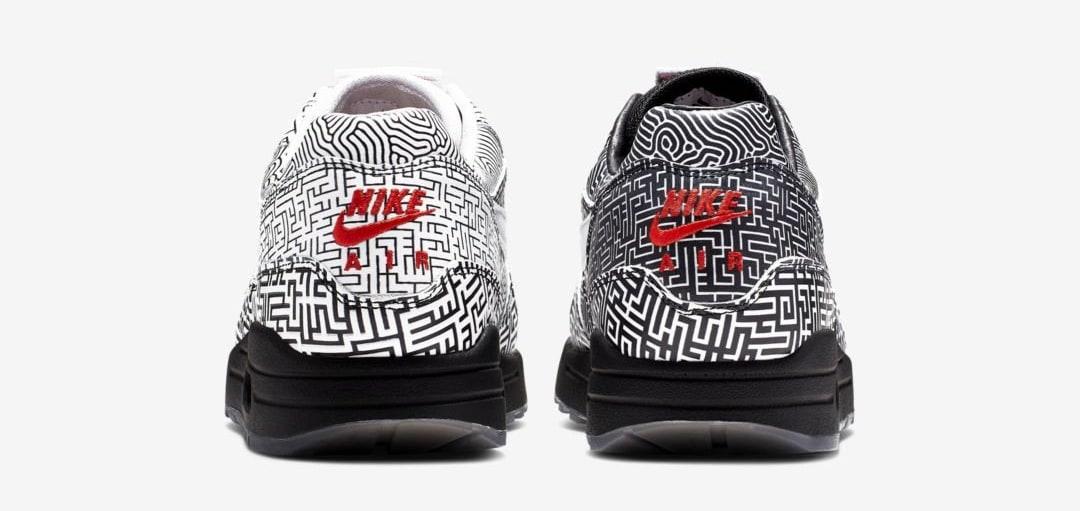 Nike Air Max 1 'Tokyo Maze' (Heel)