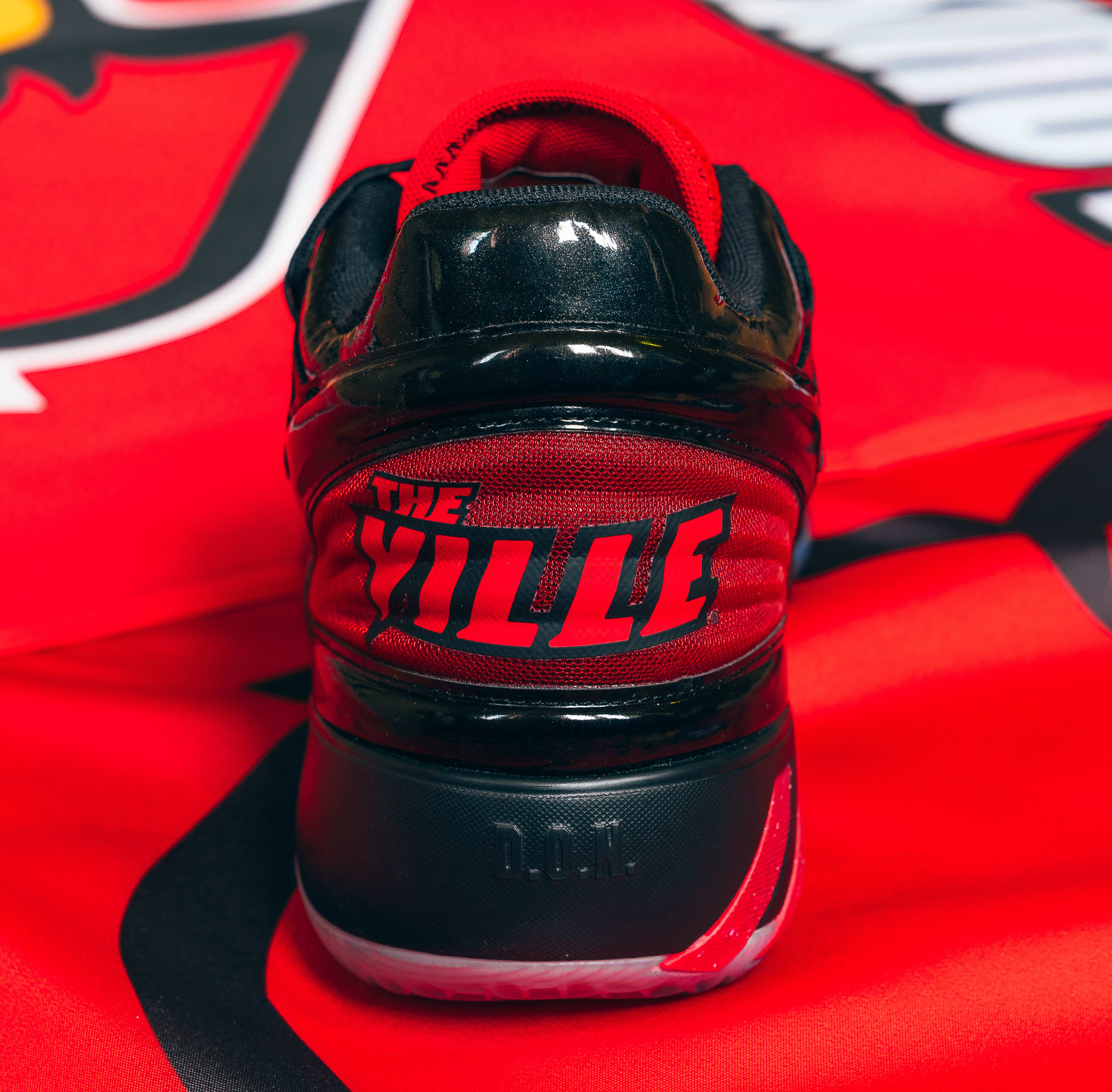 Louisville x Adidas D.O.N. Issue #2 'A Shoe For Change' Heel