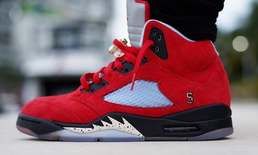 Trophy Room x Air Jordan 5 'University Red' 1