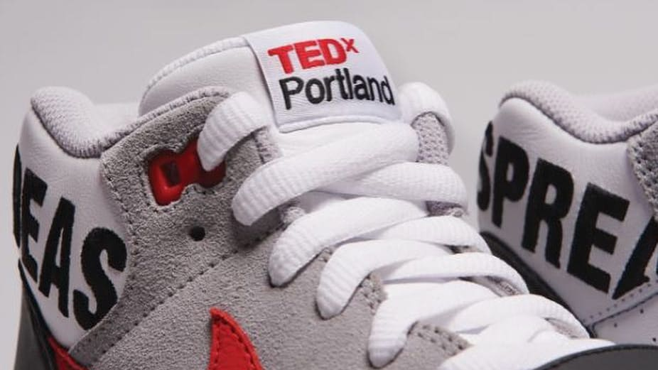 TEDxPortland x Nike Air Trainer 1 (Tongue)