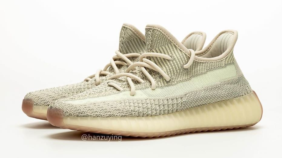 Adidas Yeezy Boost 350 V2 Citrin Release Date FW3043 Pair
