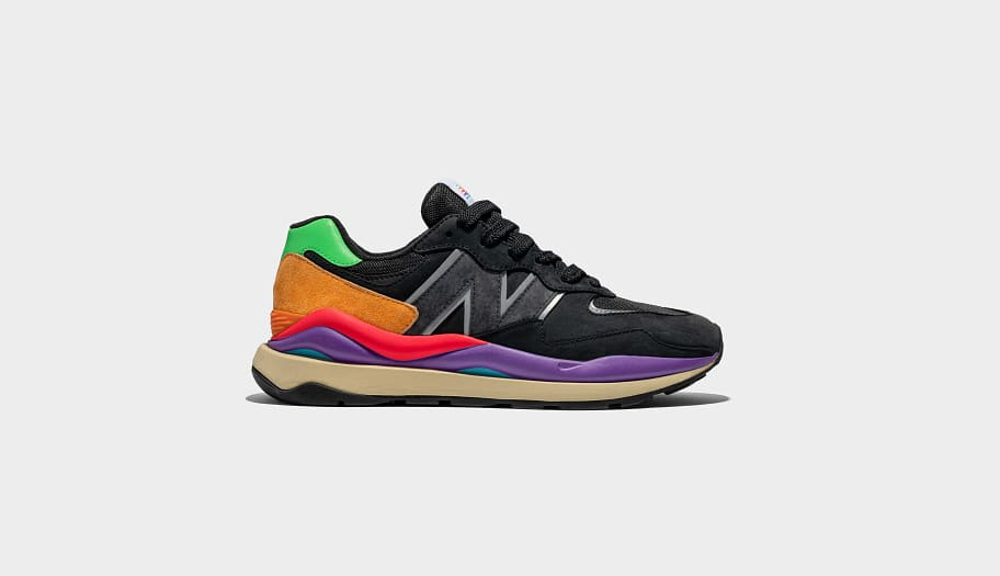New Balance 57/40 Black Lateral