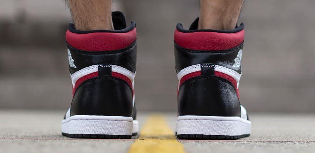 Air Jordan 1 'Gym Red' 555088-061 (Heel)