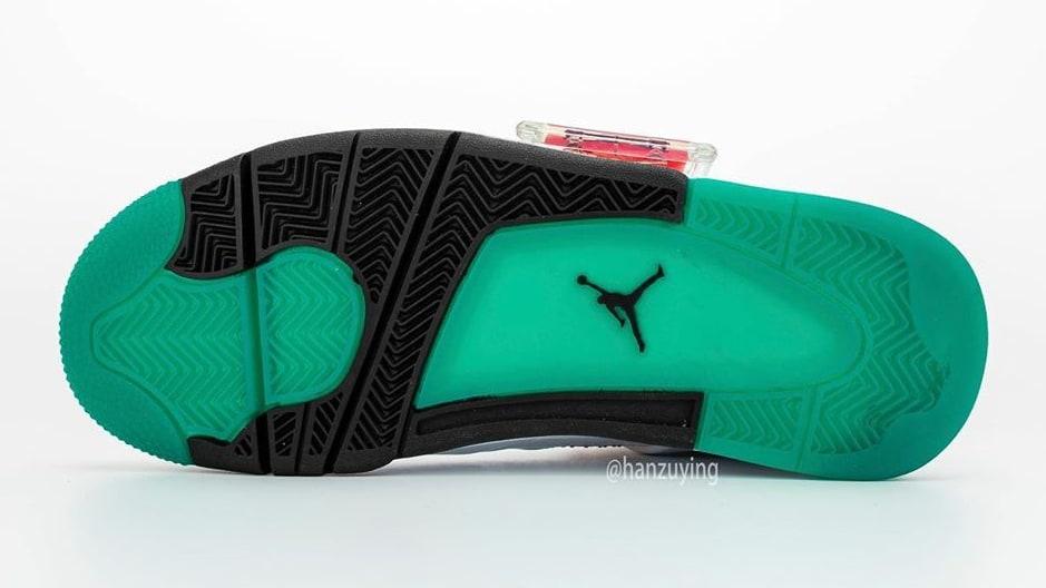Air Jordan 4 IV Rasta DTRT Release Date AQ9129-100 Sole