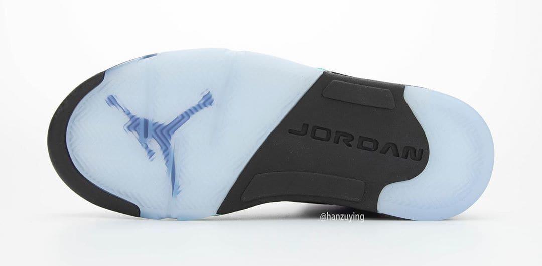 Air Jordan 5 Retro 'Alternate Grape' 136027-500 Outsole