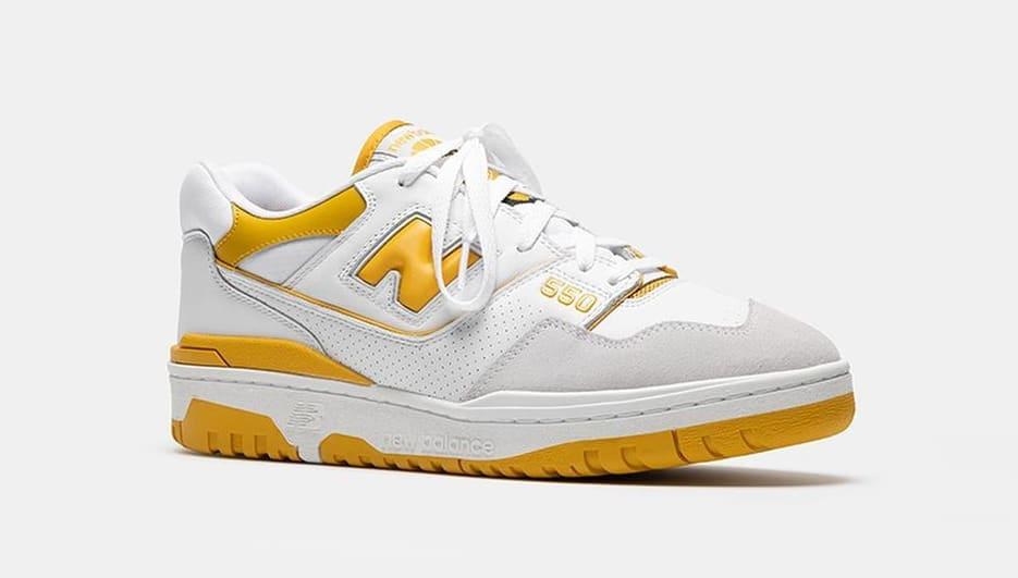 New Balance 550 'Varsity Gold' Front