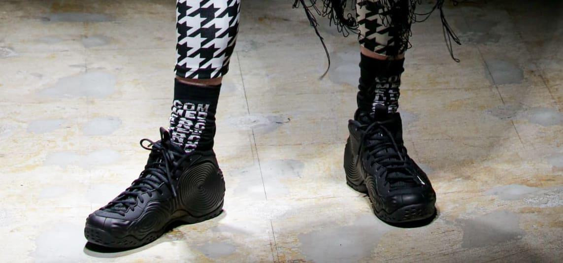 Comme des Garçons x Nike Air Foamposite One (Black 2)
