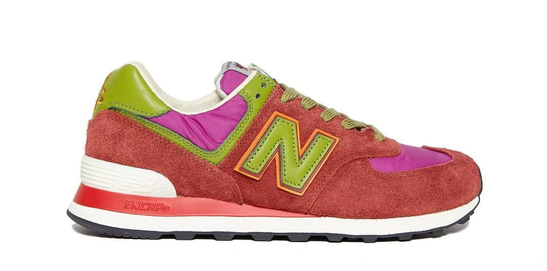 Stray Rats x New Balance 574 Pink (Lateral)