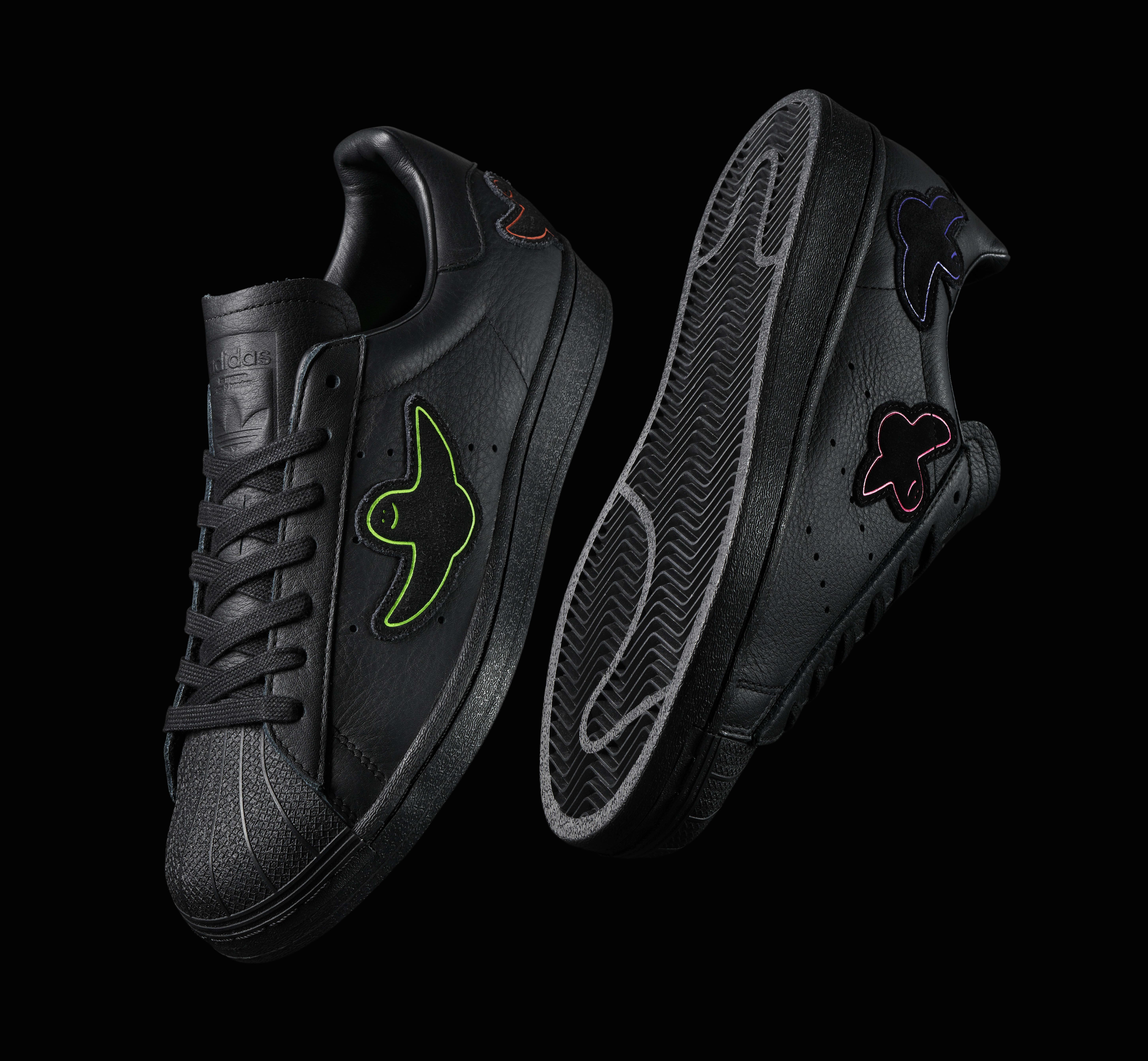 Mark Gonzales x Adidas Skateboarding Superstar 'Shmoo' Side