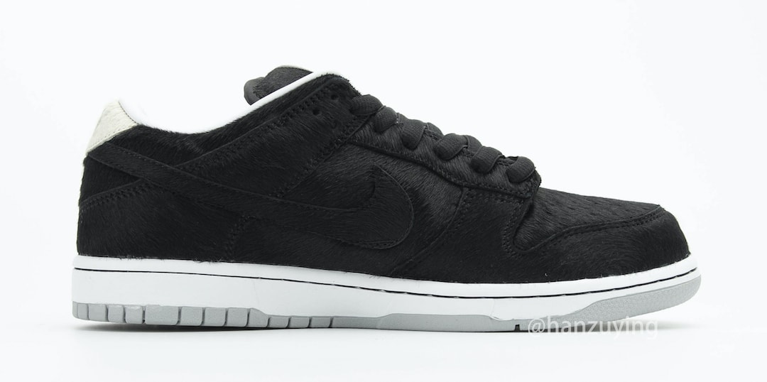Medicom Toy x Nike SB Dunk Low 'Bearbrick' CZ5127-001 Medial