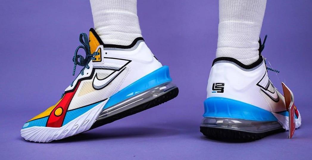 Nike LeBron 18 Low 'Stewie Griffin' Heel