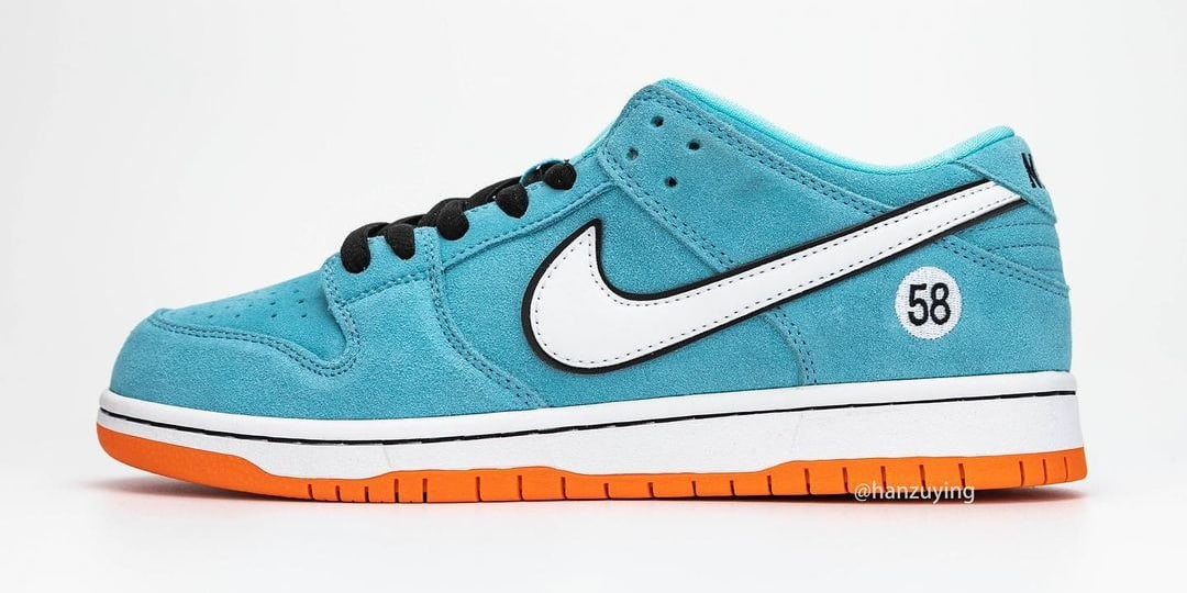 Nike SB Dunk Low 'Gulf' BQ6817-401 Lateral