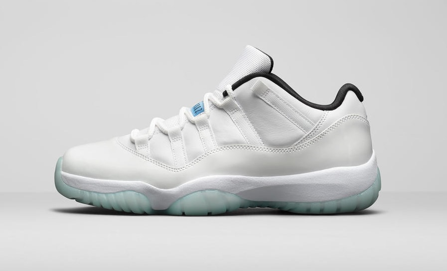Air Jordan 11 Retro Low 'Legend Blue' Lateral