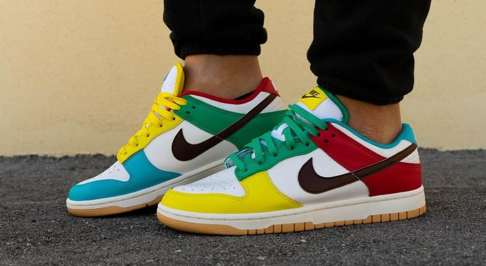 Nike Dunk Low 'Free 99' White DH0952-100 Lateral