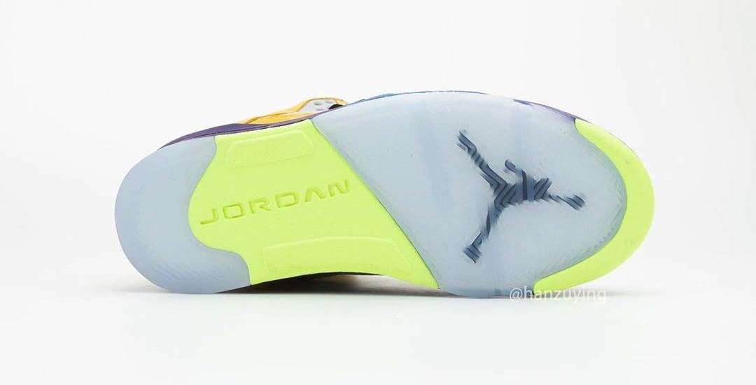 Air Jordan 5 Retro 'What The' CZ5725-700 Outsole