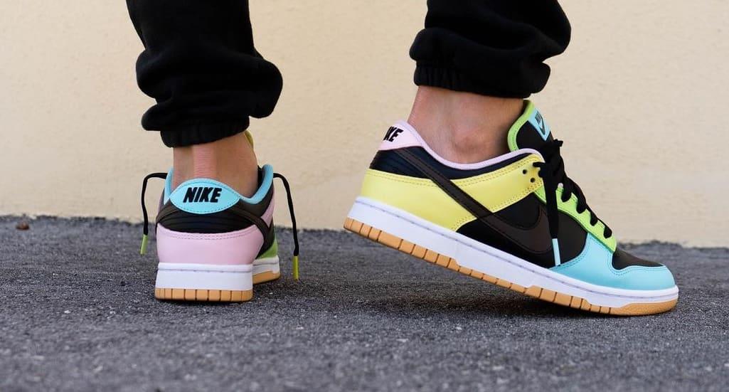 Nike Dunk Low 'Free 99' Black DH0952-001 Heel