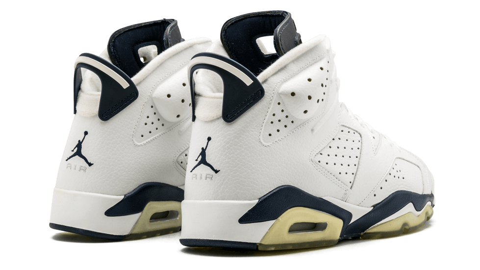 Air Jordan 6 VI Midnight Navy 2021 Release Date CT8529-141 Heel
