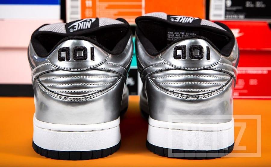 De La Soul x Nike SB Dunk Low 'AOI Bionix' Sample Heel