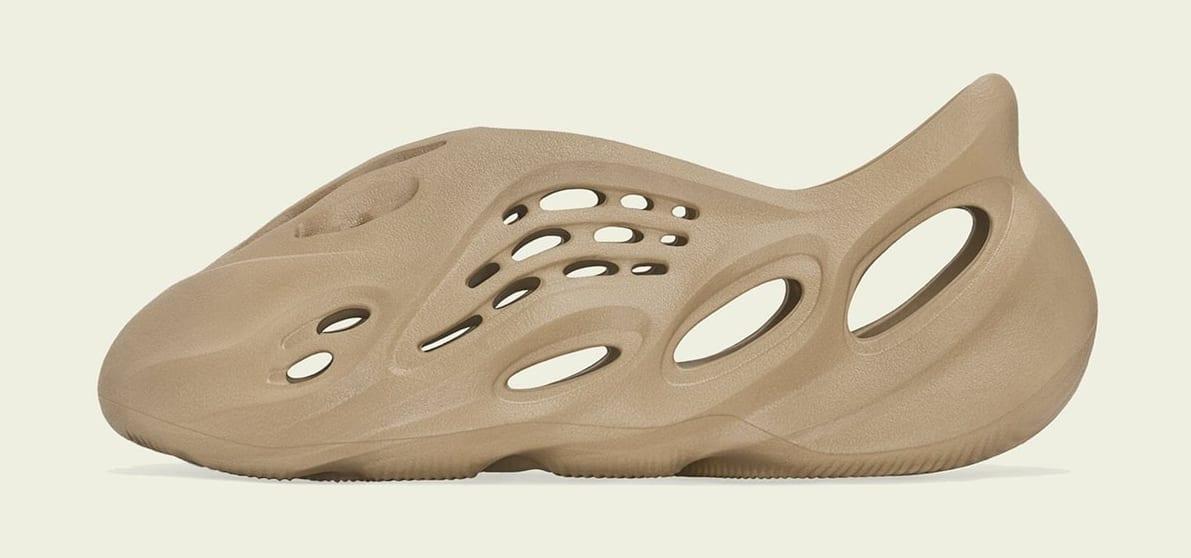 Adidas Yeezy Foam Runner 'Ochre' GW3354 Medial