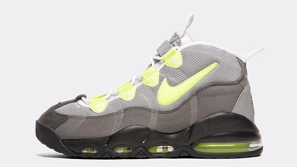 Nike Air Max Uptempo 'Neon 95' Profile