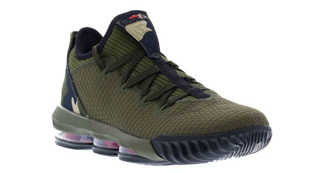 new styles 5d408 2b1b1 Nike LeBron 16 Low Camo Release Date CI2668-300 | Sole Collector