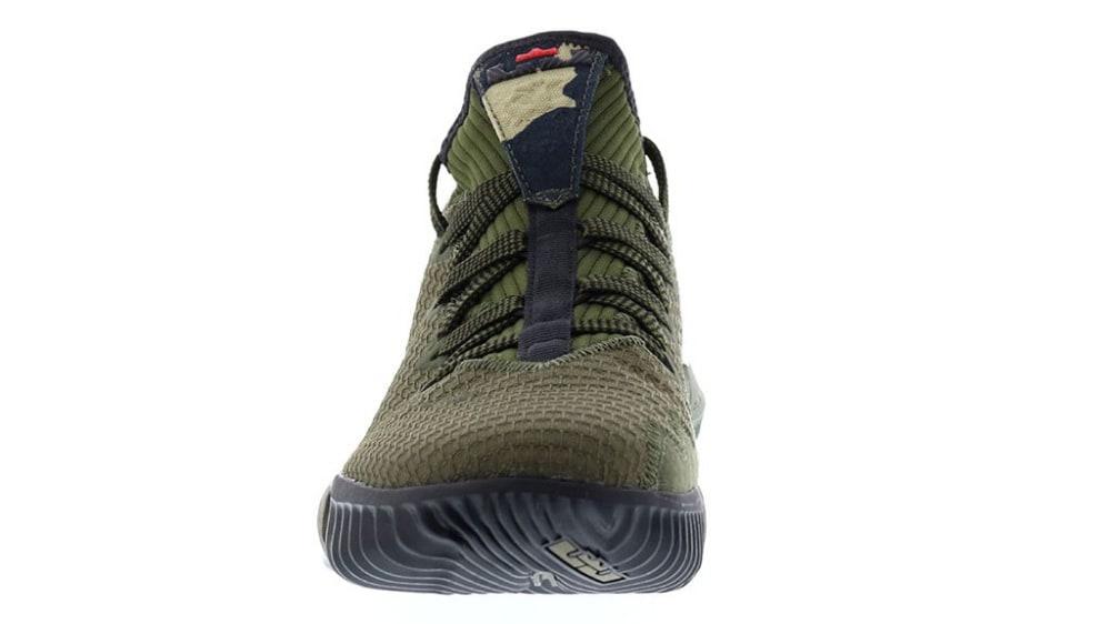 b0f5d2eeaa3 Image via Basket4ballers · Nike LeBron 16 Low Camo Release Date CI2668-300  Front