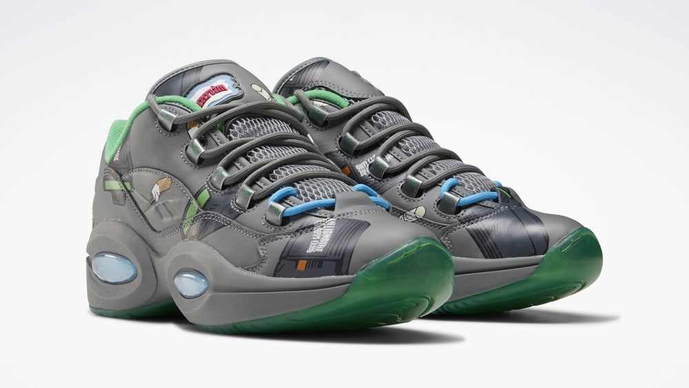 BBC x Reebok Question Low 'Beepers & Butts' FZ4342 Pair