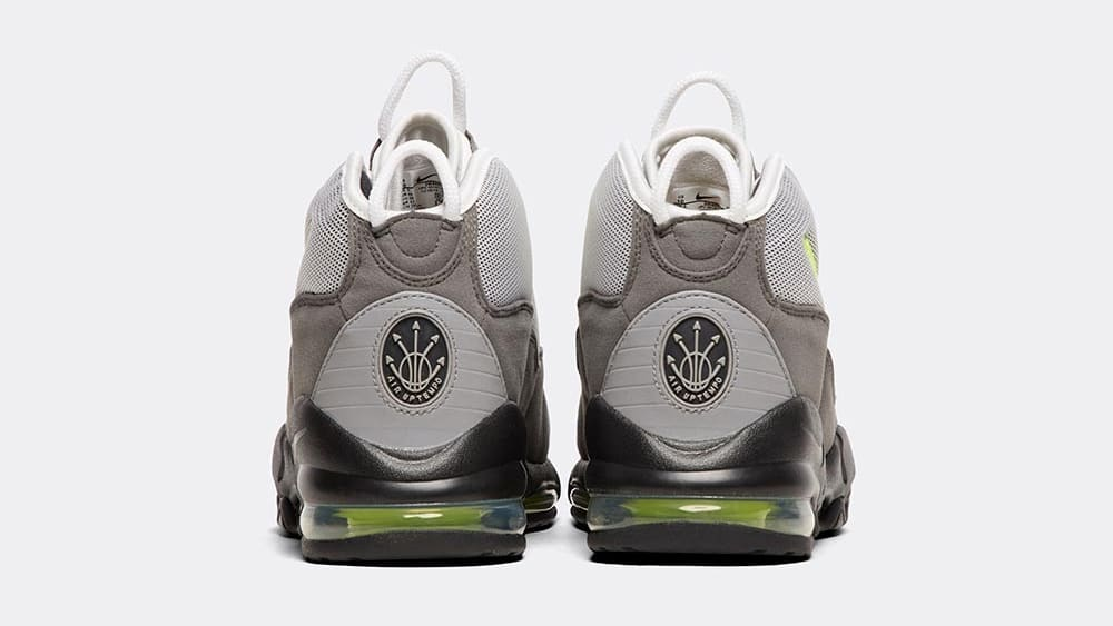 Nike Air Max Uptempo 'Neon 95' Heel
