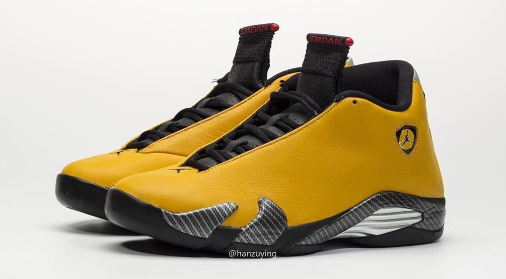 Air Jordan 14 Retro 'Yellow Ferrari' BQ3685-706 Side
