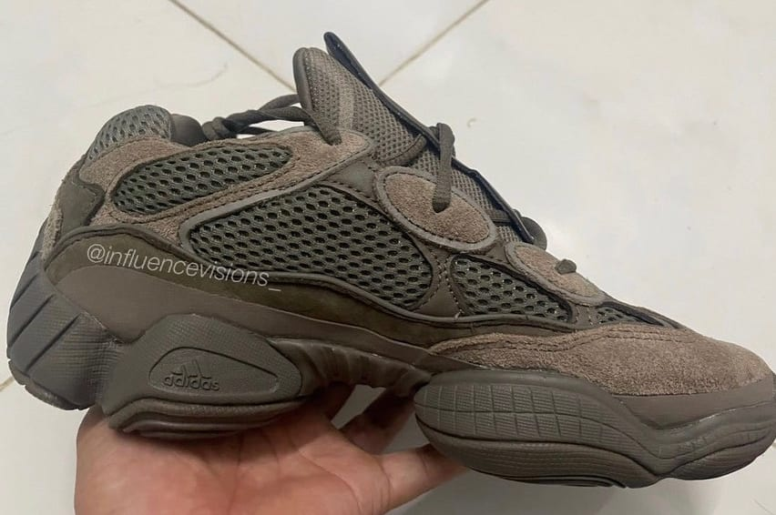 Adidas Yeezy 500 'Brown Clay' Medial