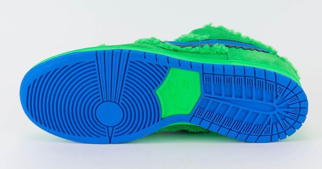 Nike SB Dunk Low Pro QS 'Grateful Dead' Green Spark/Soar CJ5378-300 Outsole