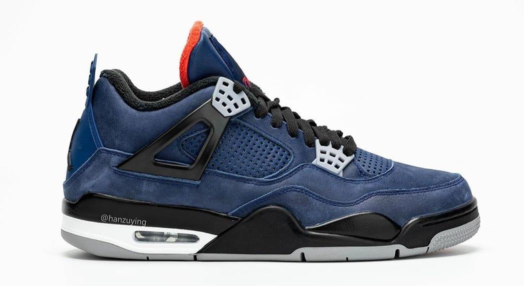 detailed look 9d512 8ddd0 Air Jordan 4 WNTR 'Loyal Blue/White/Habanero Red/Black ...