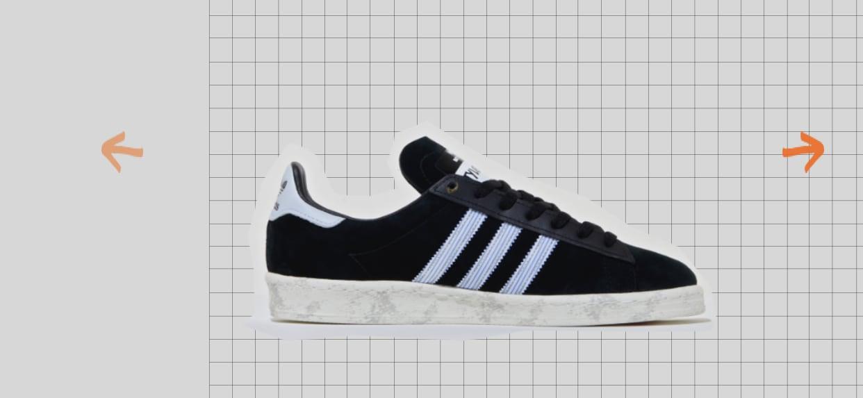 Size? x Adidas Campus 80s 'Fight Club' Medial