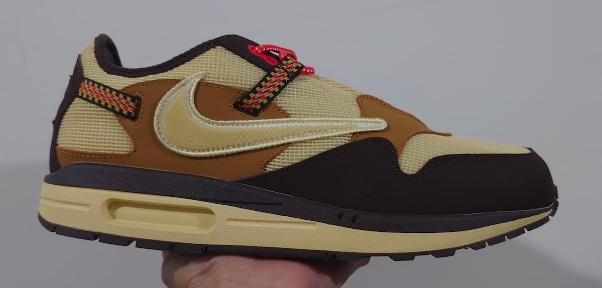 Travis Scott x Nike Air Max 1 Collab Lateral