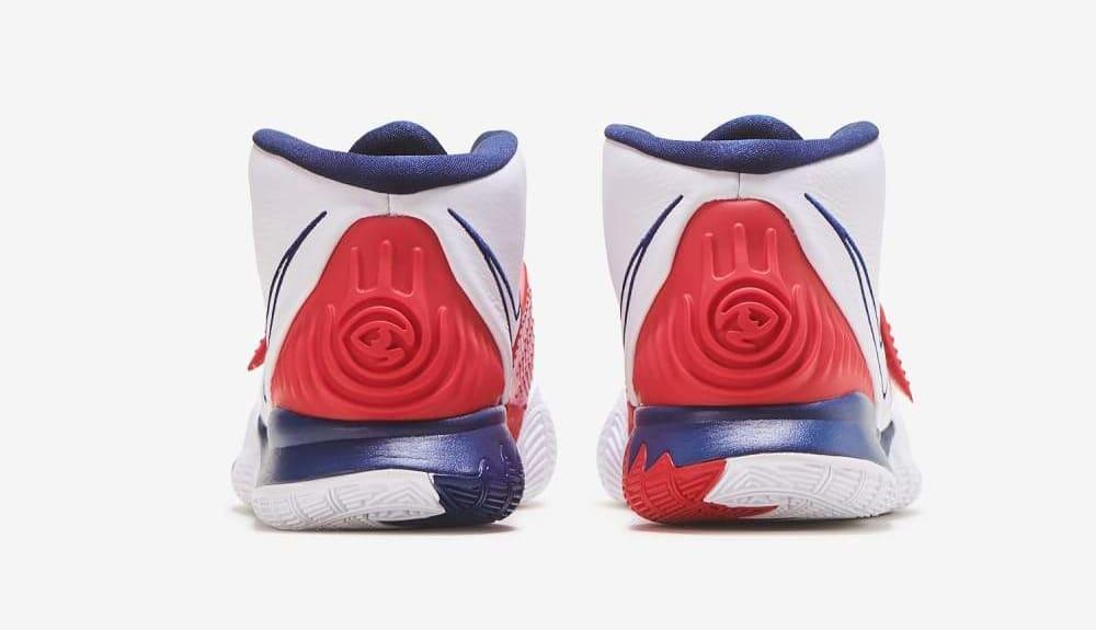Nike Kyrie 6 'USA' BQ4630-102 Heel