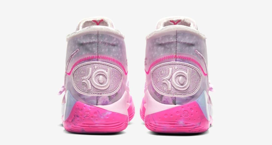 Nike KD 12 'Aunt Pearl' (Heel)