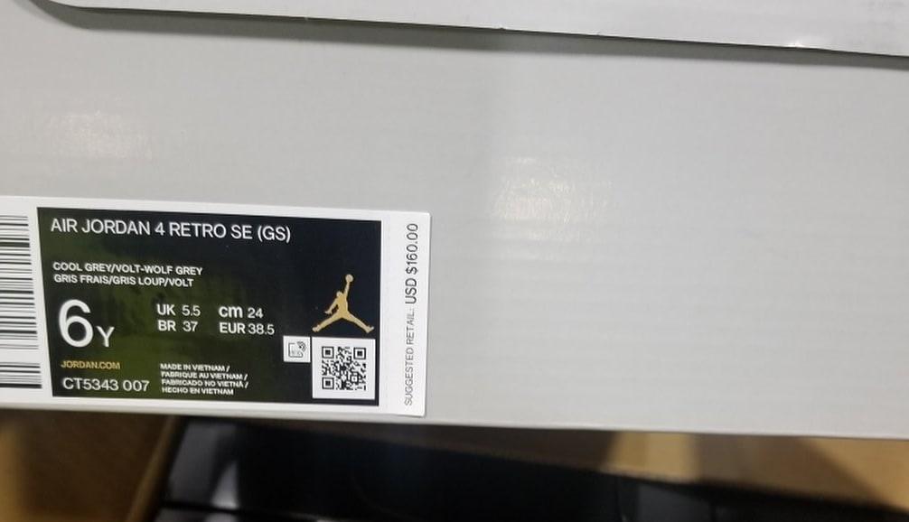 Air Jordan 4 Air Max 95 Neon Release Date CT5342-007 Box