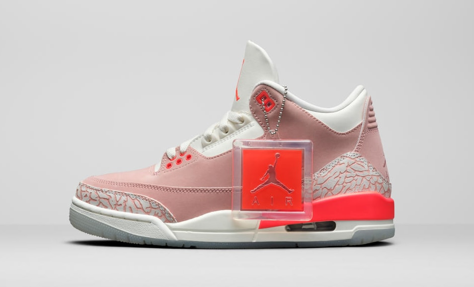 Air Jordan 3 Retro Women's 'Rust Pink' Lateral