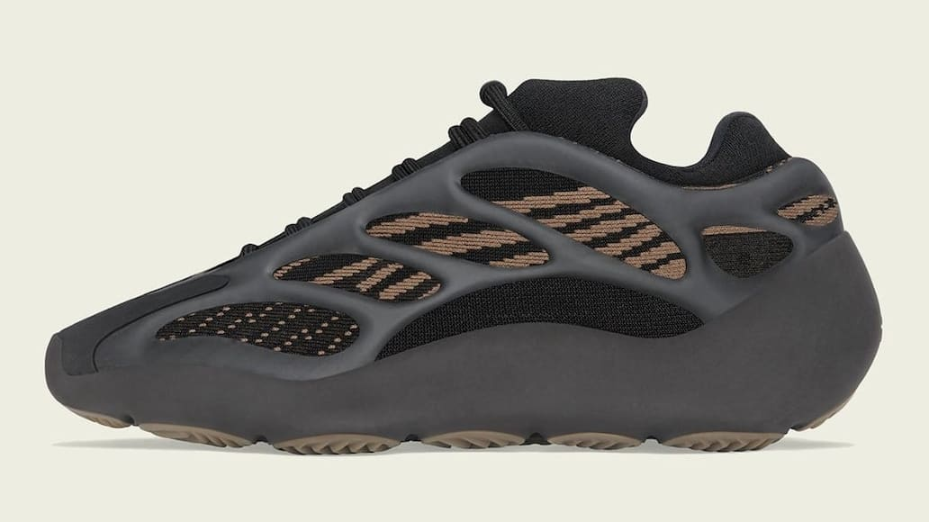 Adidas Yeezy 700 V3 Clay Brown Release Date GY0189 Medial