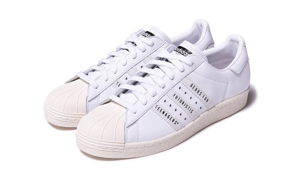 Human Made x Adidas Superstar 80s White Front