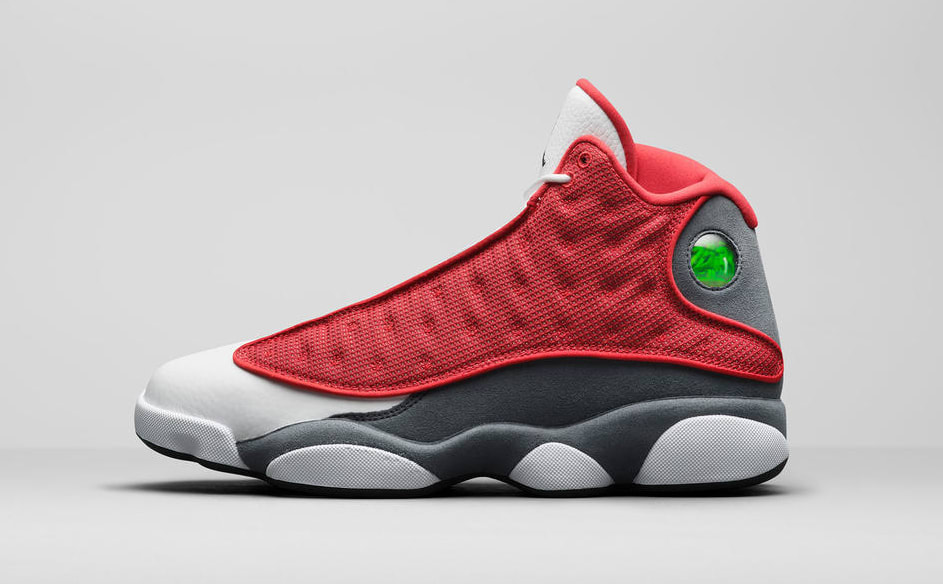 Air Jordan 13 Retro 'Red Flint' Lateral