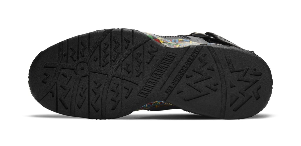 Nike Air Raid Retro 'Urban Jungle Gym' Outsole