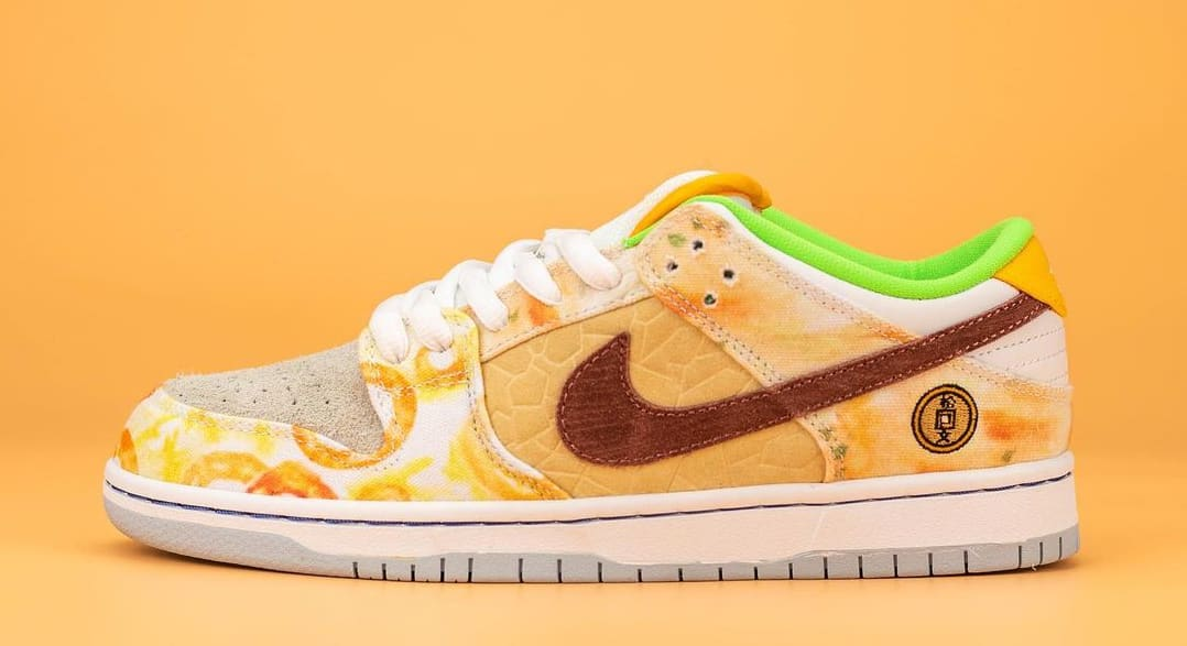 Nike SB Dunk Low 'Chinese New Year' CV1628-800 (Left Shoe)