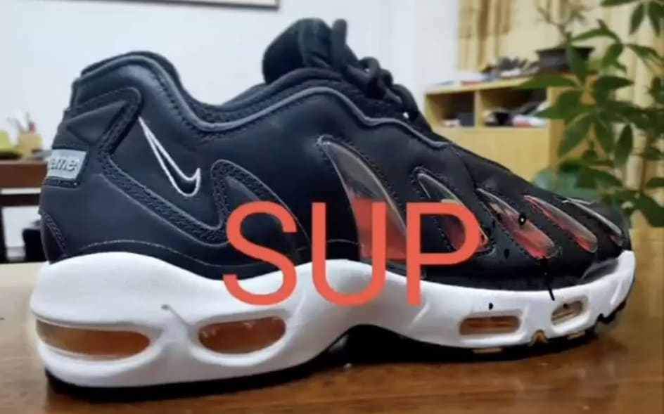 Supreme x Nike Air Max 96 First Look