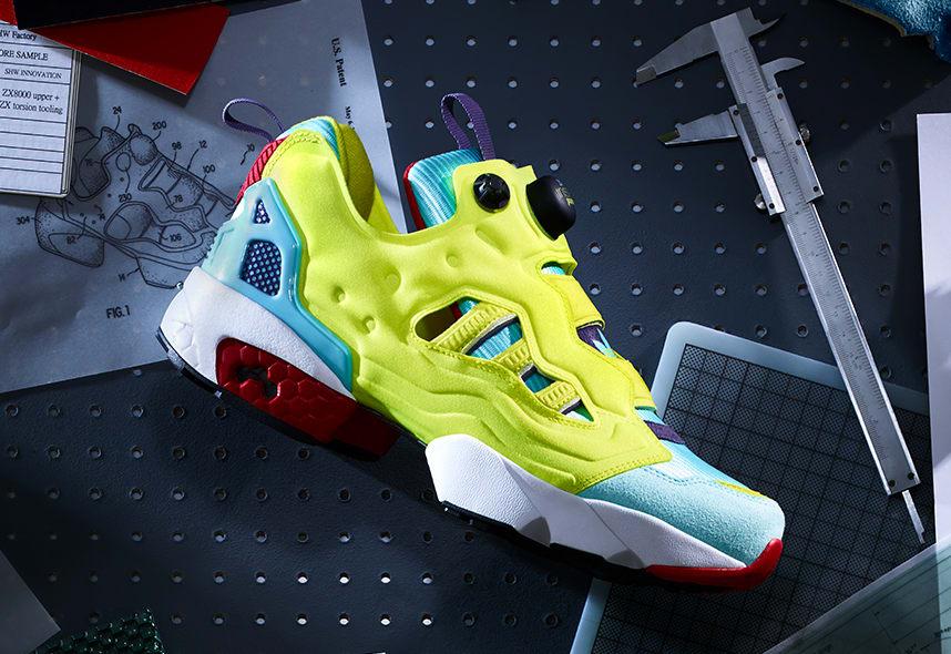 Adidas x Reebok ZX Pump Side