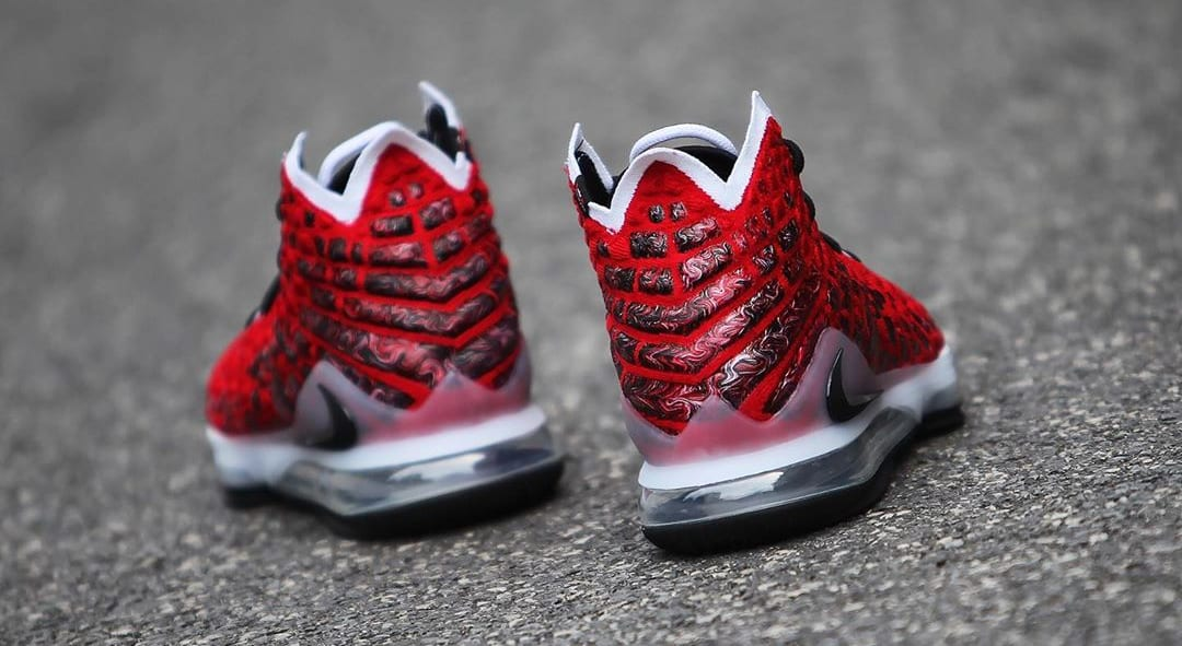 Nike LeBron 17 'Uptempo' BQ3177-601 Heel