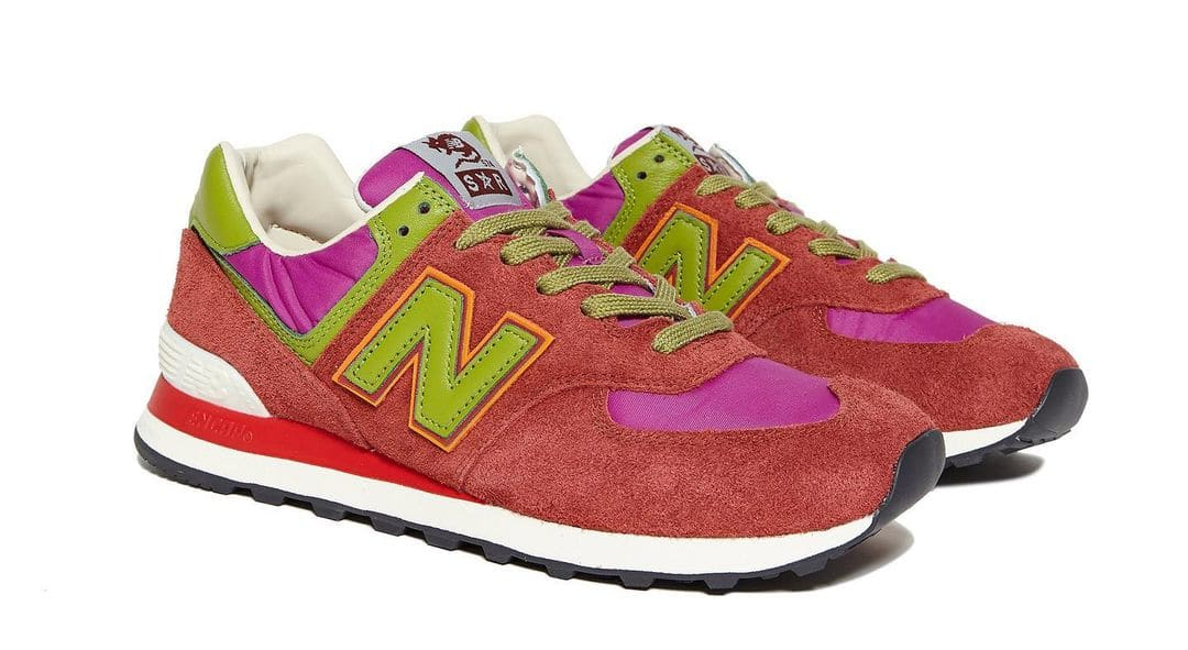 Stray Rats x New Balance 574 Pink (Pair)