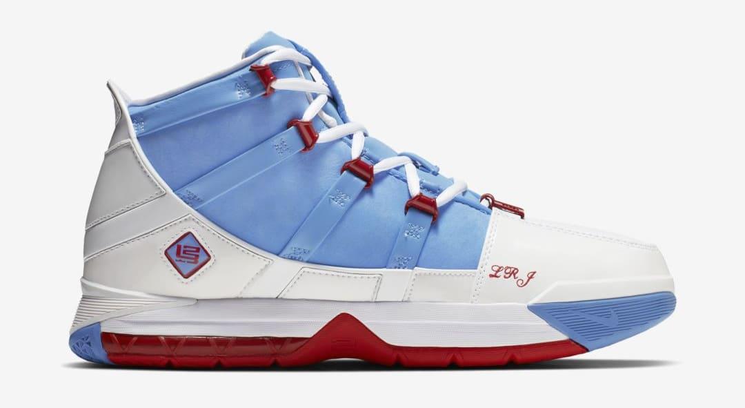 Nike Zoom LeBron 3 'Houston All-Star' AO2434-400 (Medial)