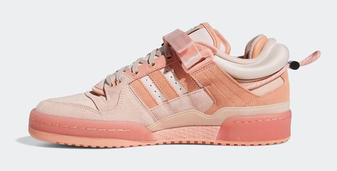Bad Bunny x Adidas Forum Buckle Low Pink GW0265 Medial