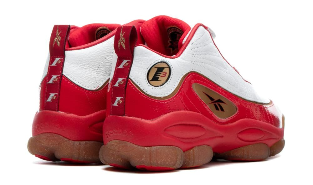 32f03be5c60fc2 Image via BSTN · Reebok Iverson Legacy  Red White Black Bras  CN8406 (Heel)